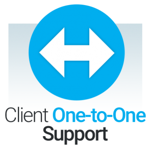 One to One Support Icon